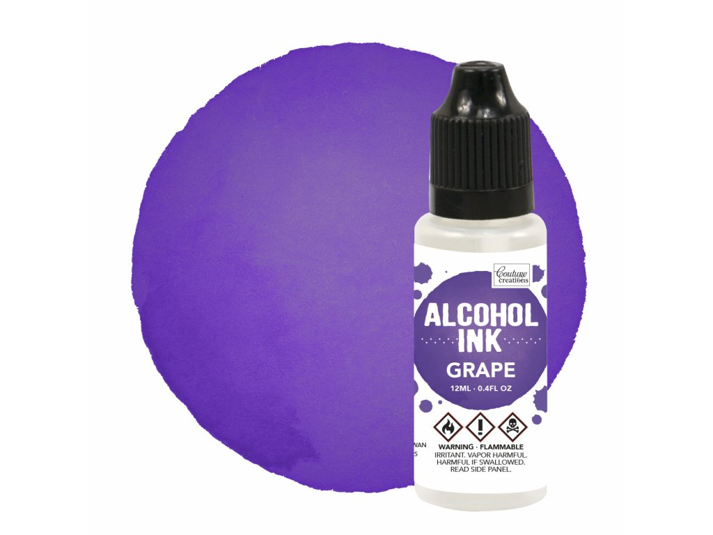 couture creations alcohol ink grape 12ml co727324