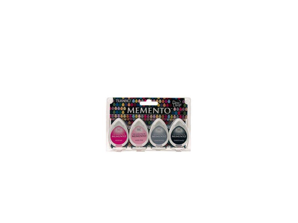 Memento - GIRLS´ NIGHT OUT - razítkovací barva, 4 ks