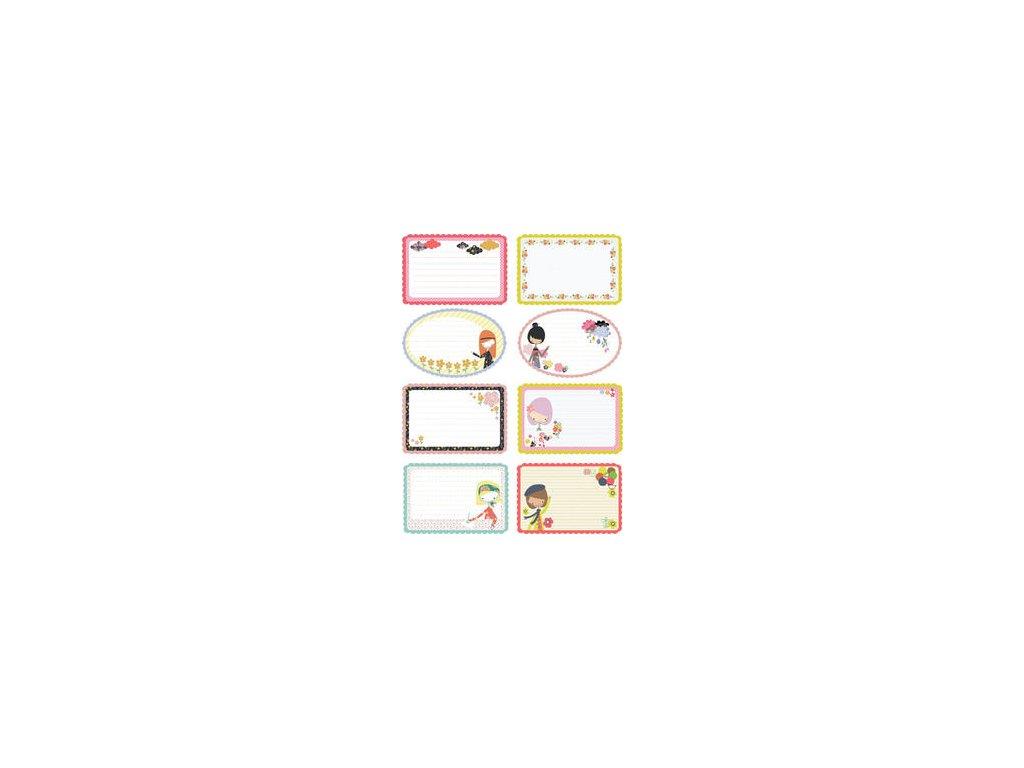 Prima - YUKI COLL. / JOURNALING NOTECARD SET - scrapbooková čtvrtka
