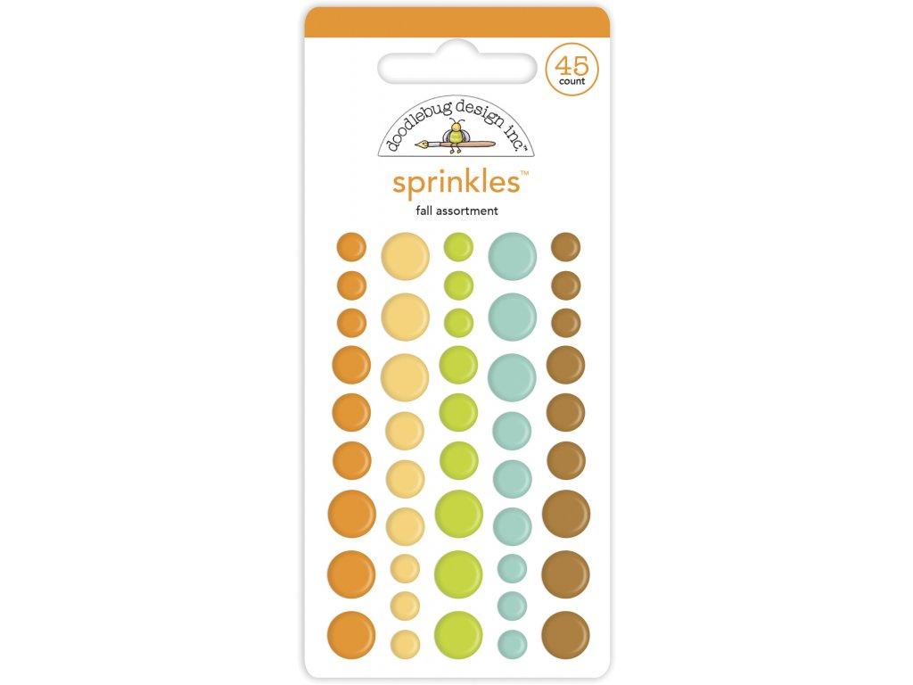 doodlebug design fall assortment sprinkles 45pcs 6