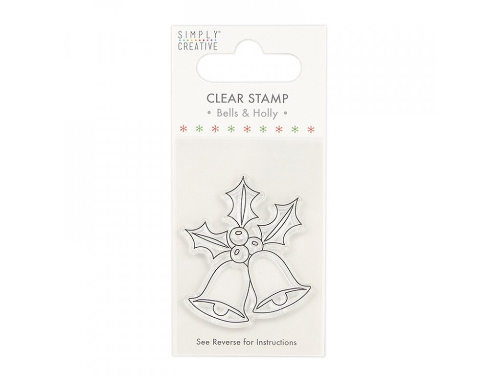 simply creative bells clear stamp scstp025x20
