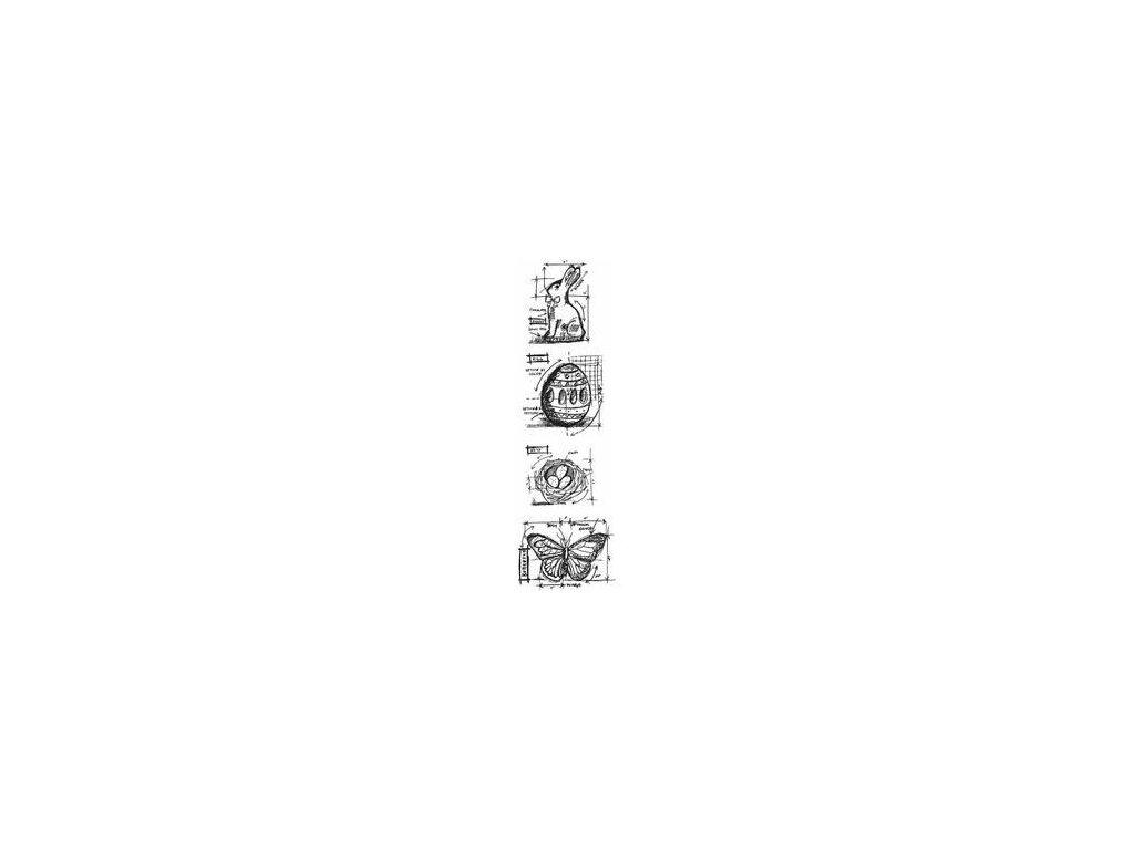Ranger - EASTER - cling gumové razítko