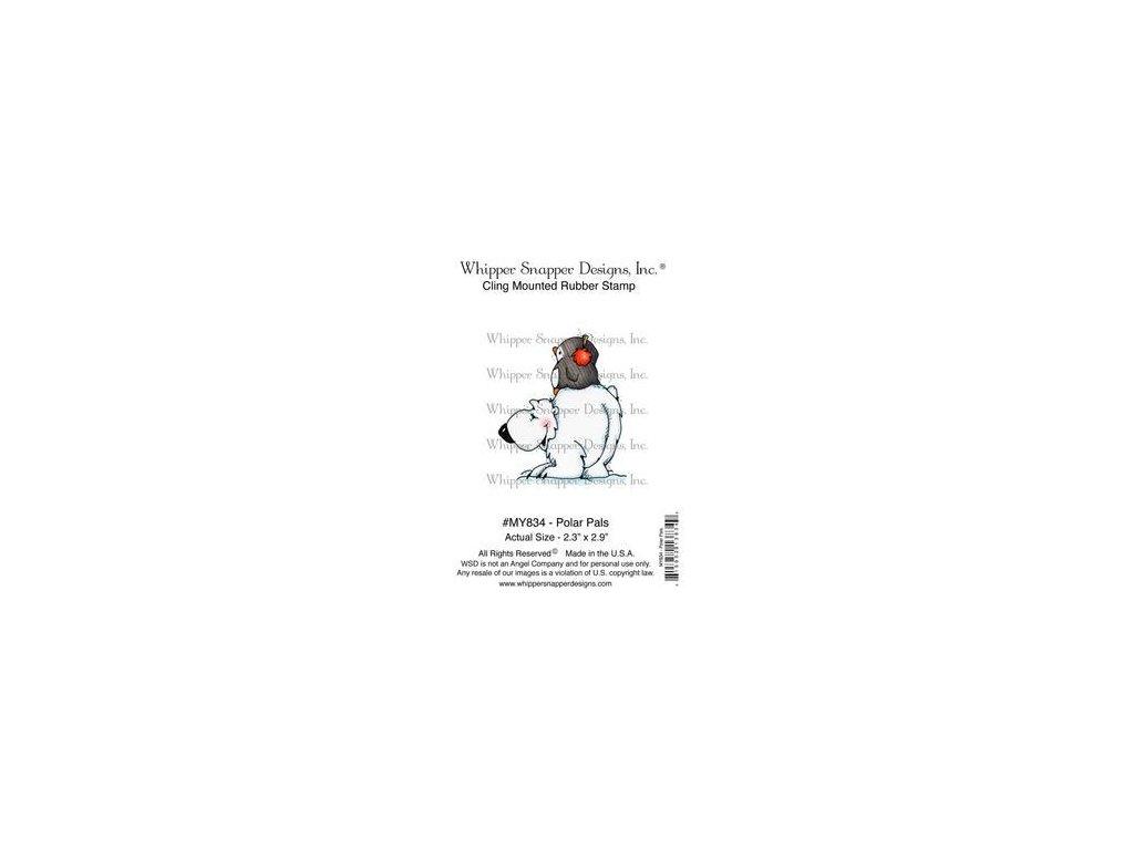 Whipper Snapper Designs - POLAR PALS - cling gumové razítko