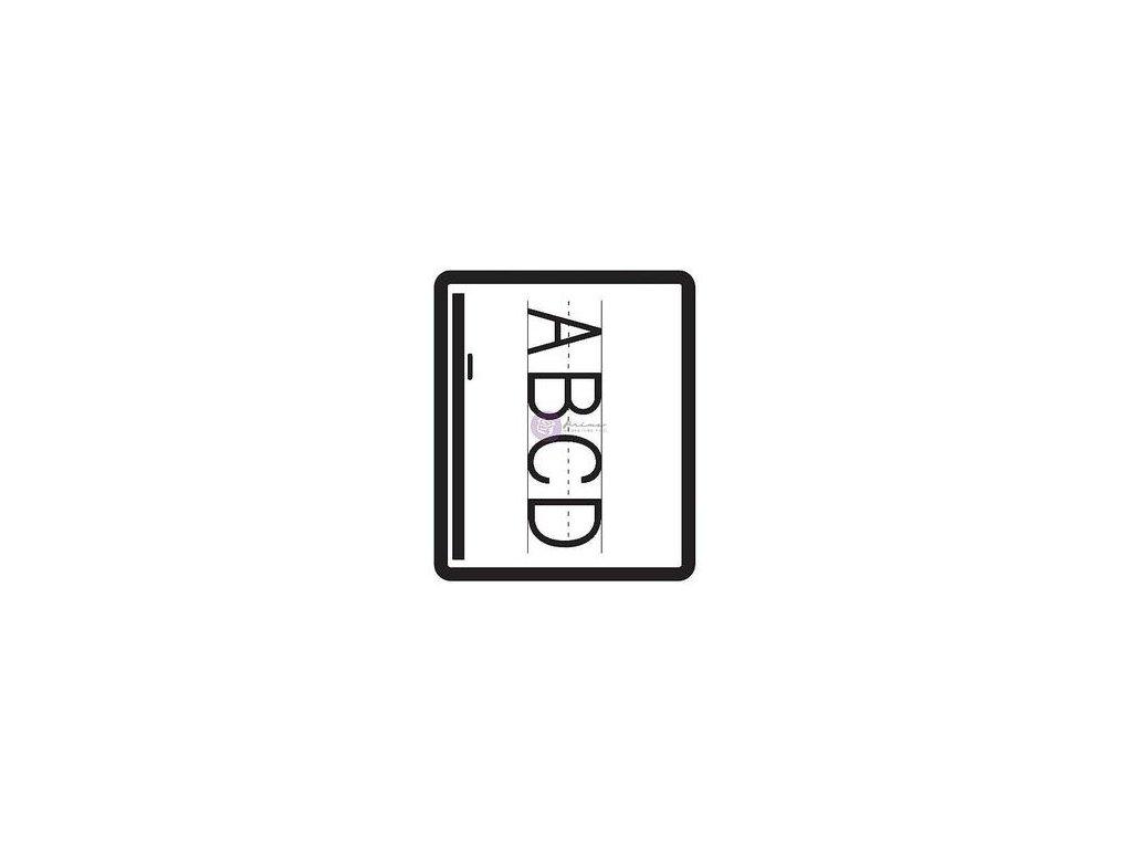 Prima - SCHOOL MEMORIES - silikonová razítka pro scrapbook