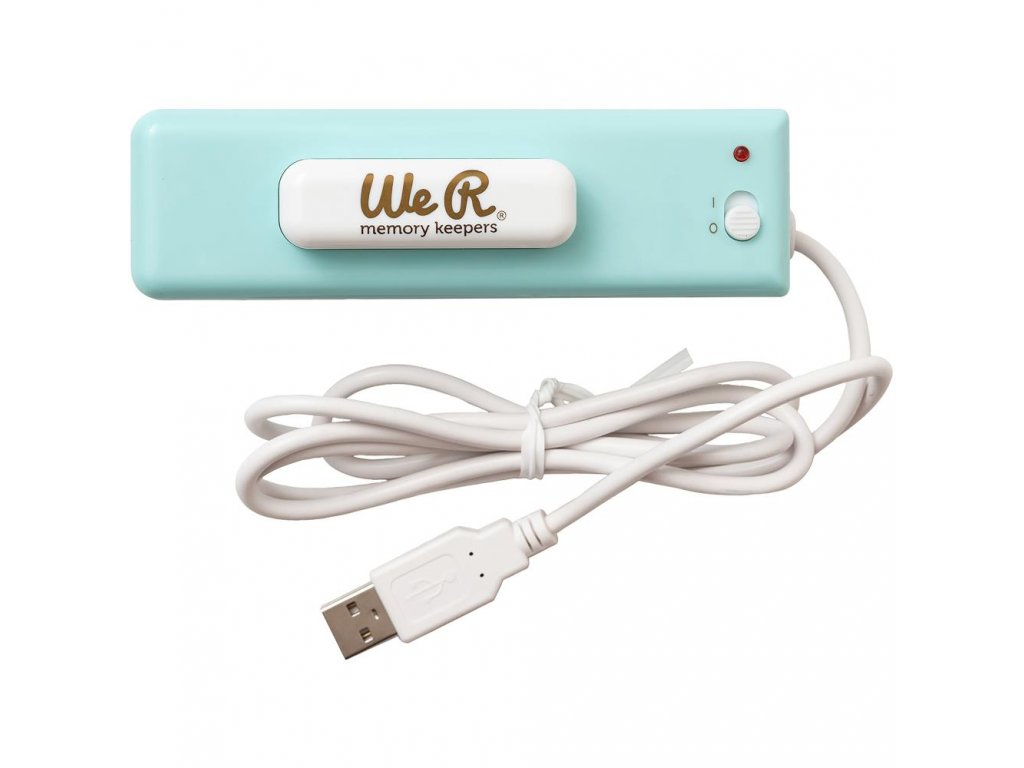 We R - USB  RIBBON CUTTER - pomůcka na stuhy, napájení USB