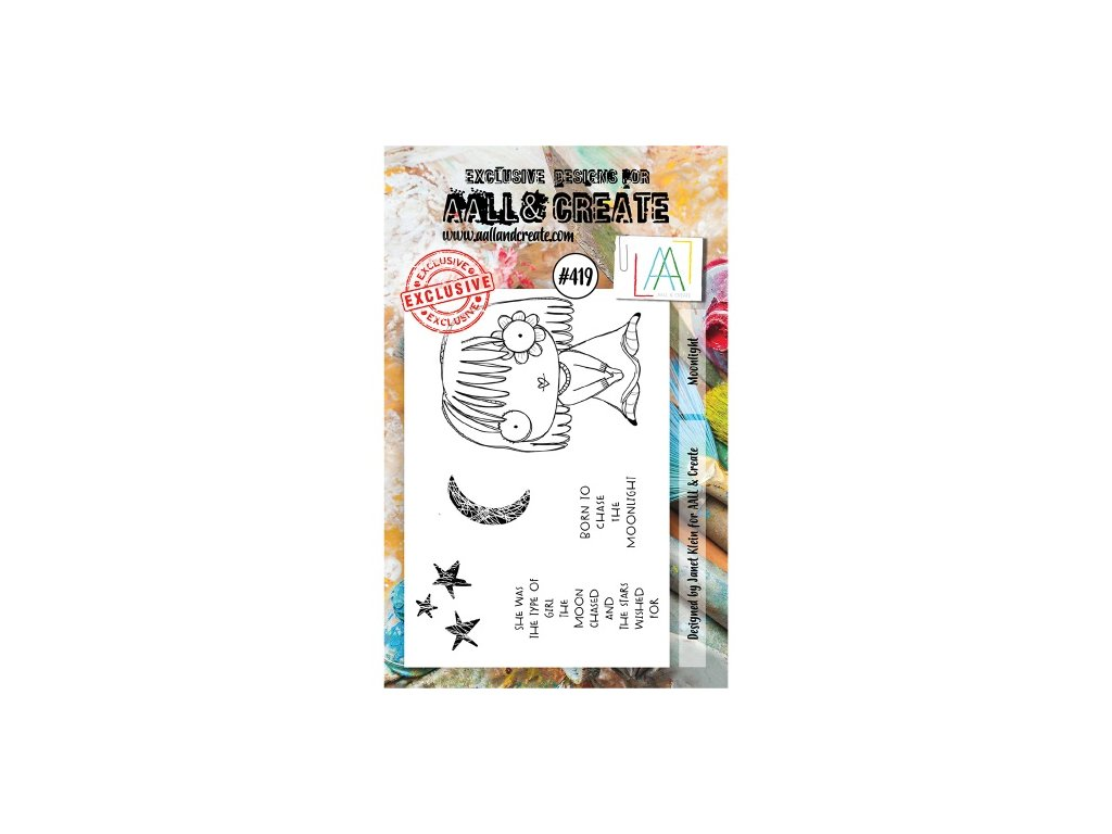 AALL and Create Stamp Set 419 Moonlight