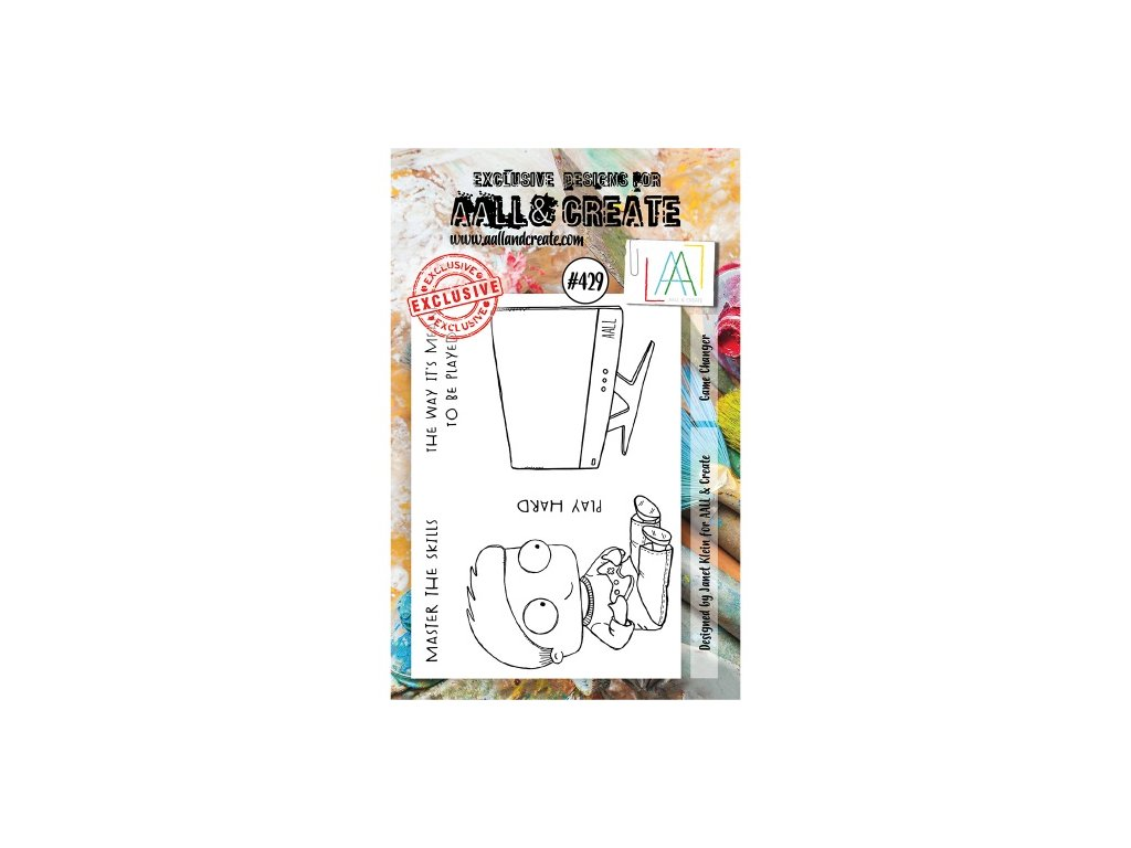 AALL and Create Stamp Set 429 Game Changer
