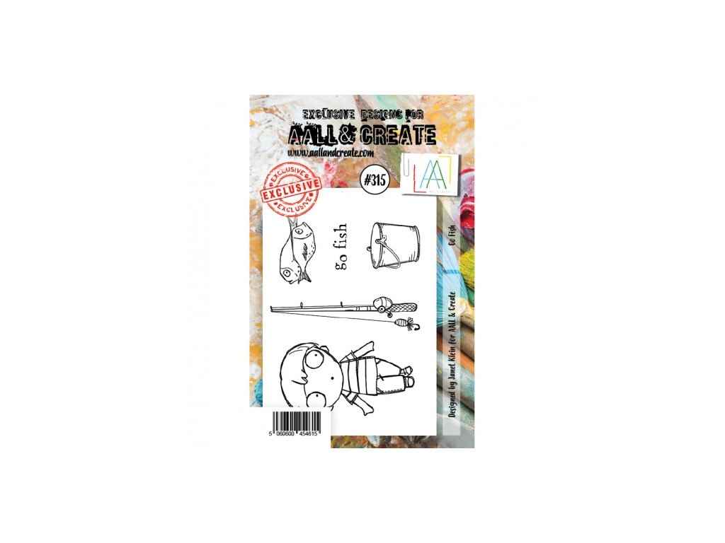 AALL and Create Stamp Set 315 Go Fish