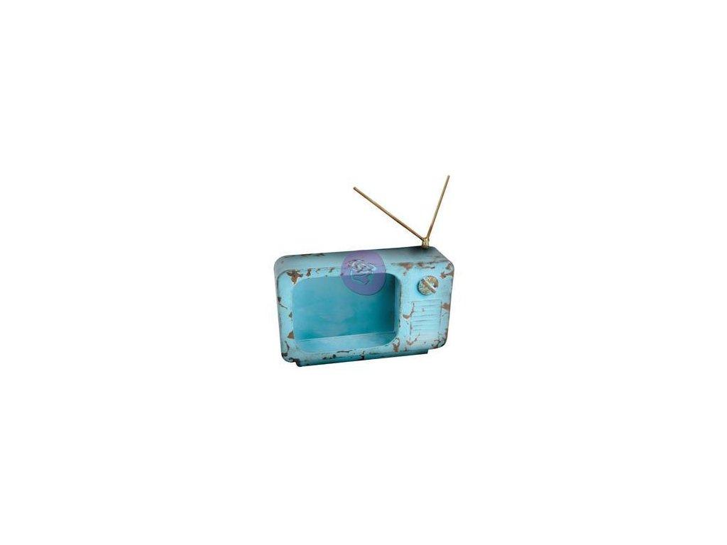 Prima Marketing - TV - kovový předmět na dozdobení