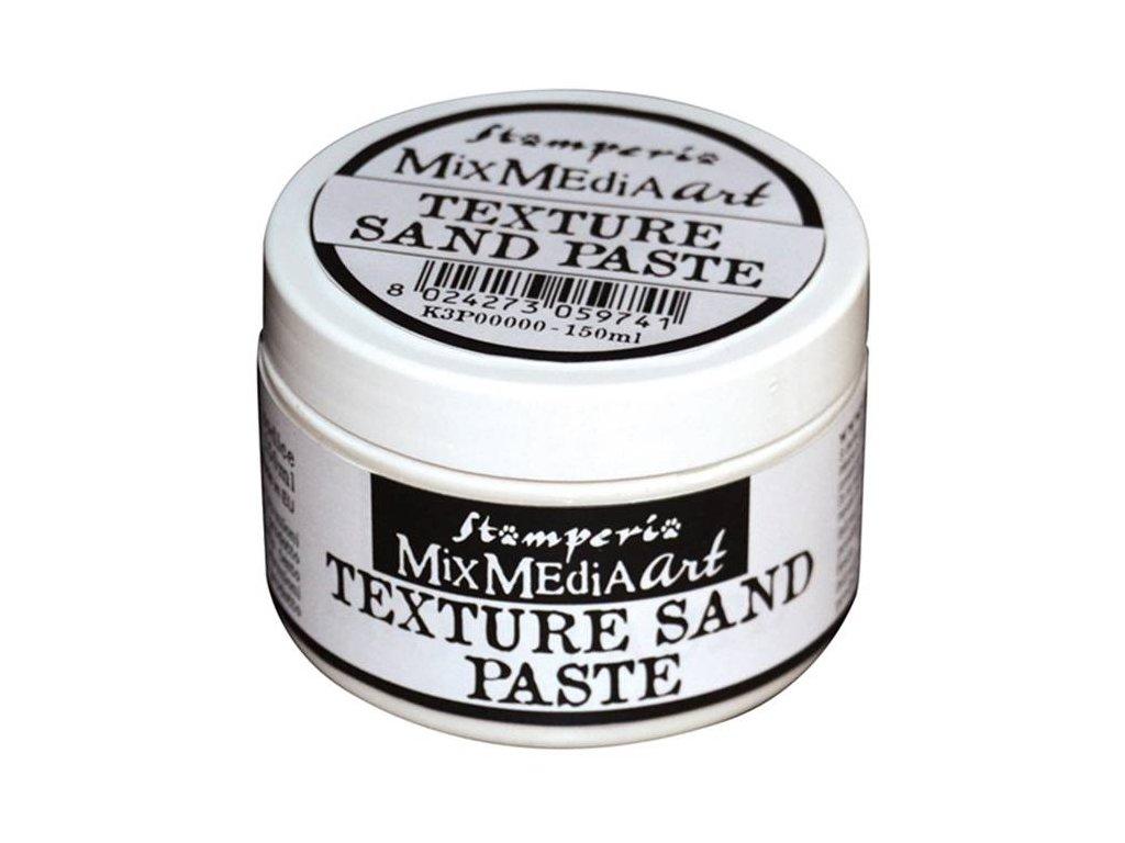 stamperia texture sand paste 150ml white k3p40