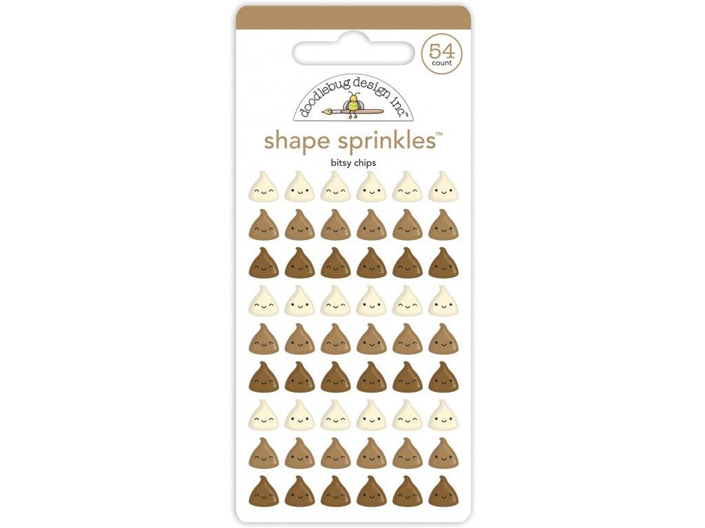 doodlebug design bitsy chips shape sprinkles 7090