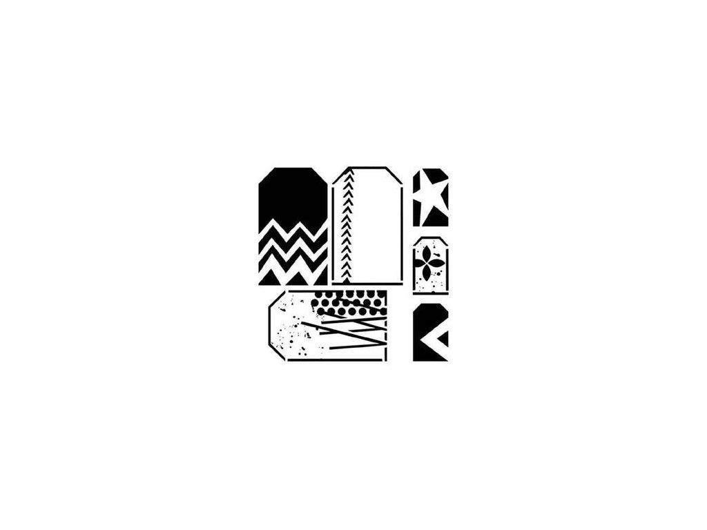 crafter workshop 6 x 6 mini funky tags