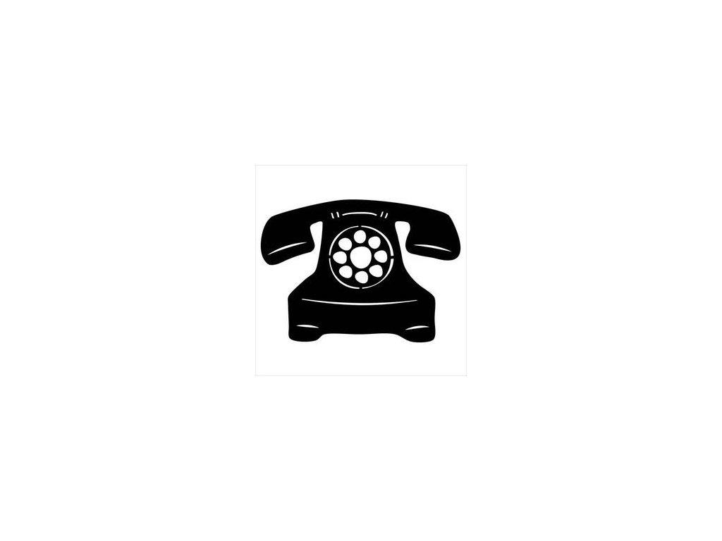 "TCW / ROTARY PHONE FRAGS  4x4"" - šablona"