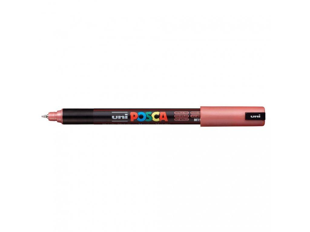 metallic red posca paint pens 076860 64 1000