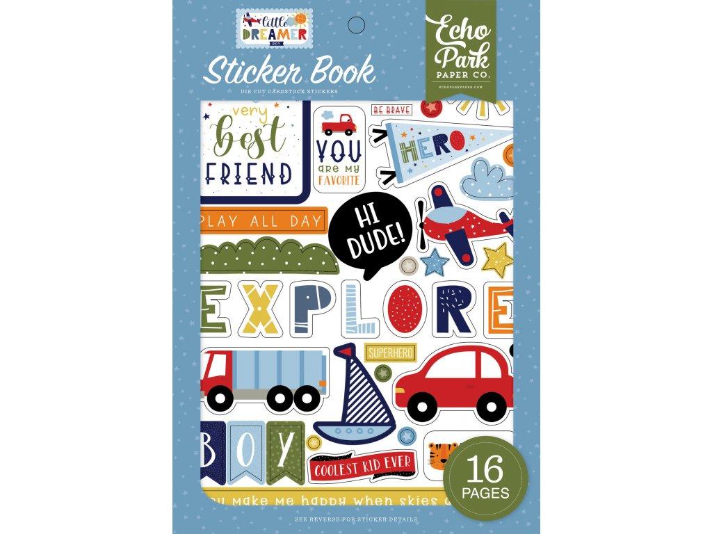 echo park little dreamer boy sticker book ldb23802