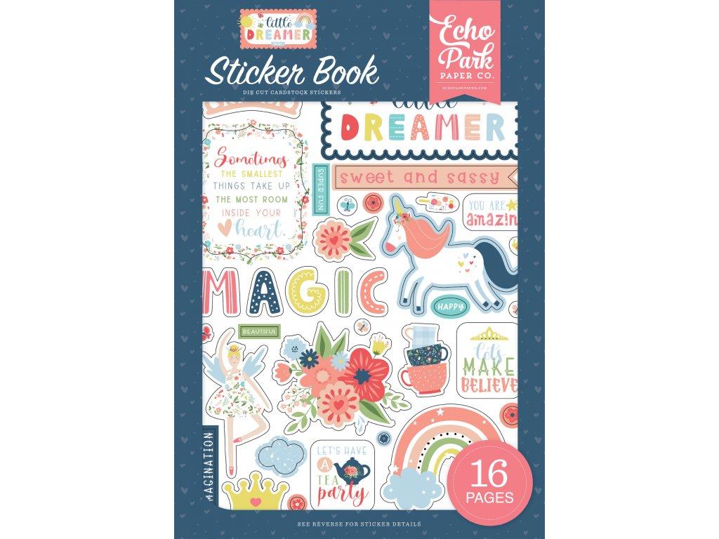 echo park little dreamer girl sticker book ld23702