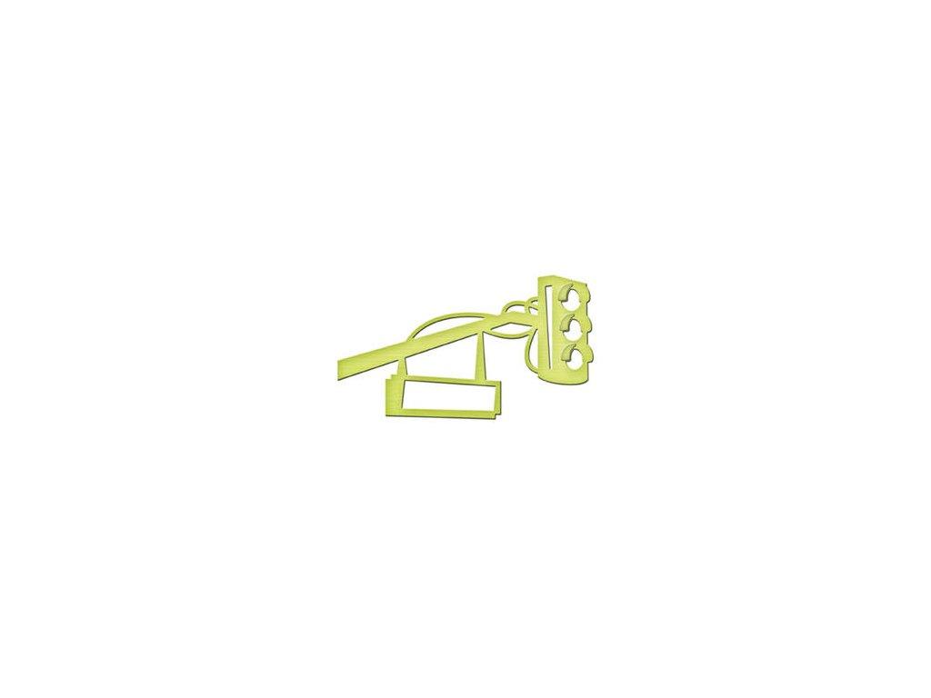 in007 spellbinders shapeabilities die d lites street light 30256 p