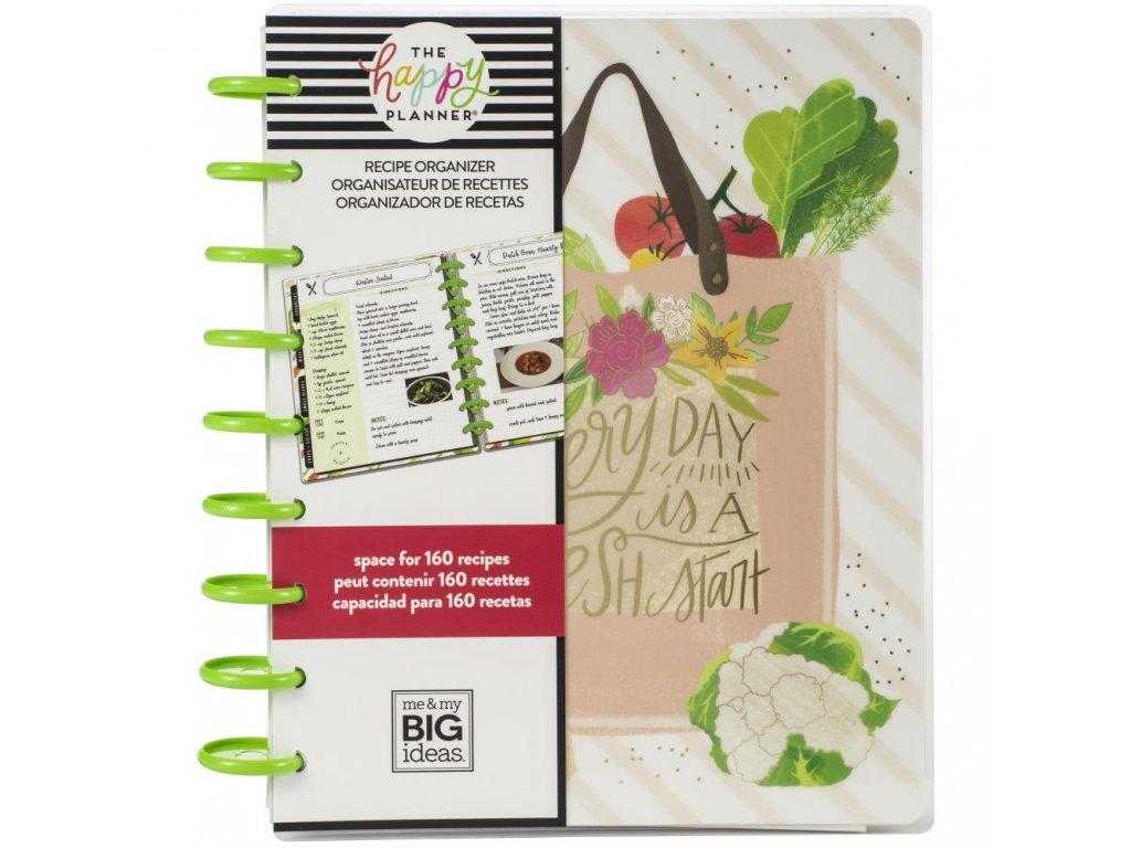 Me&My Big Ideas - HAPPY PLANNER / RECIPES - receptář