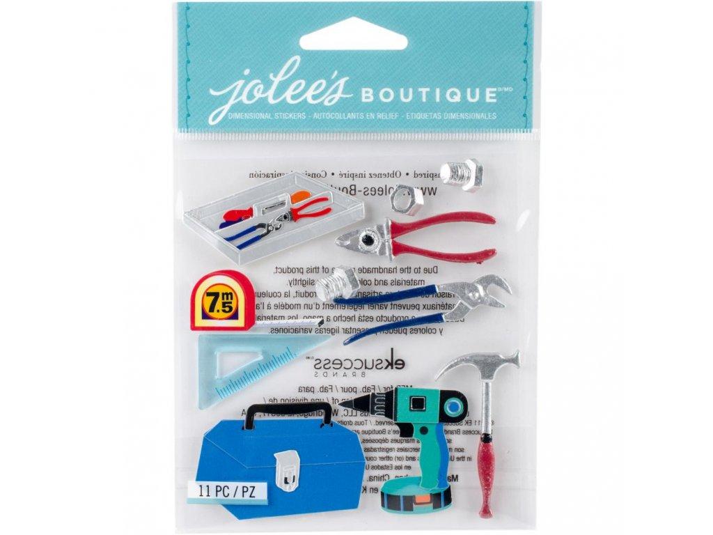Jolees Boutique - TOOLS - 3D samolepky