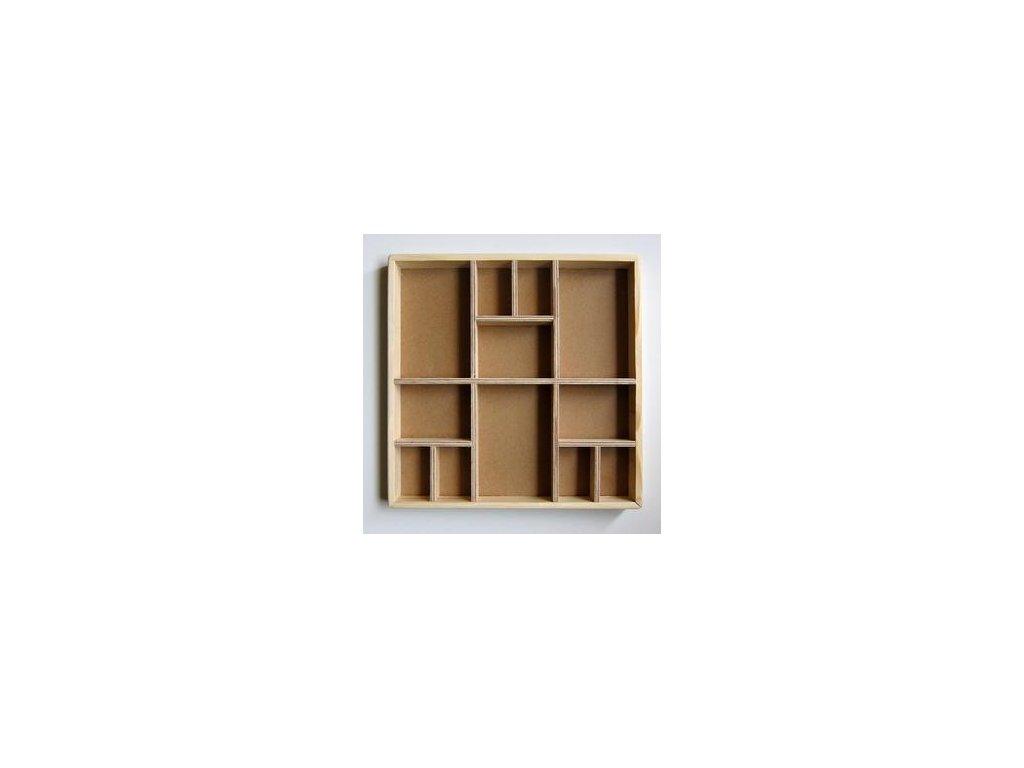 Dřevěný SHADOW BOX na dozdobení