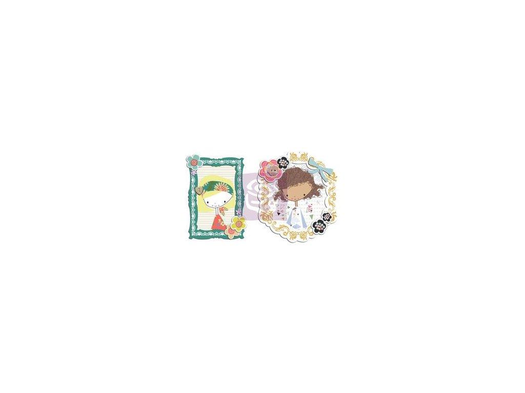 Prima - YUKI FOR RUBY VIOLET - papírové ozdobné rámečky