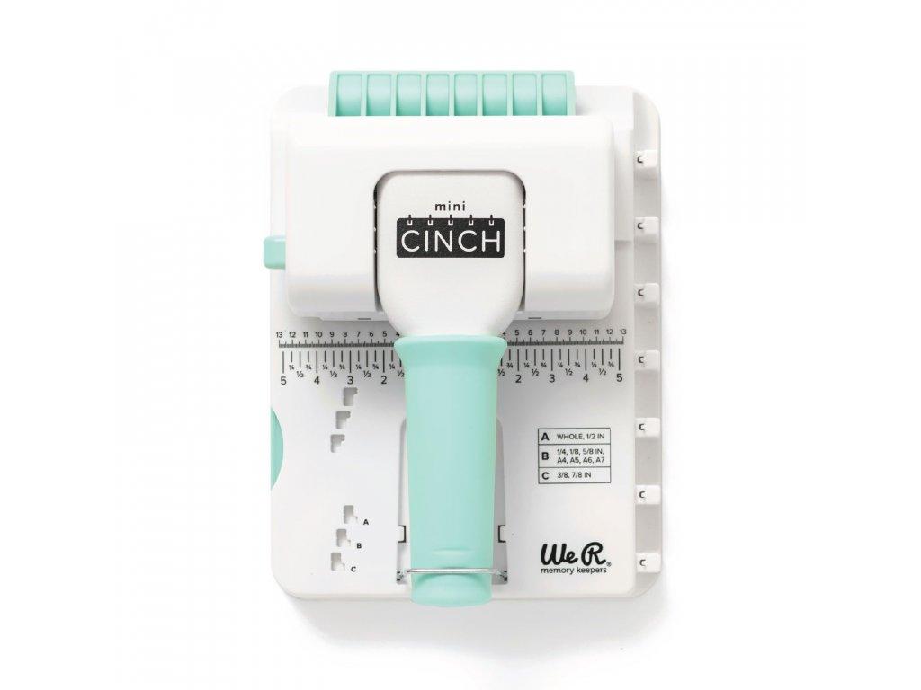 """WeR - MINI CINCH - malý vázací strojek, čtvercové otvory, spirály pouze 5/8"""""""