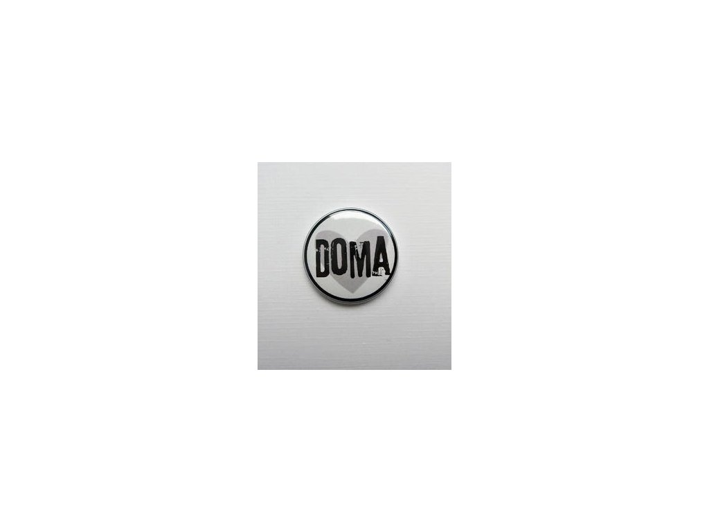 DOMA / 23  -  3D button / placka