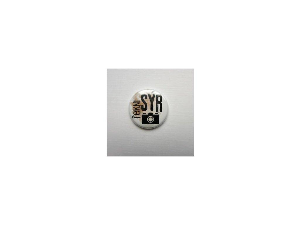 Řekni SÝR / 25  -  3D button / placka