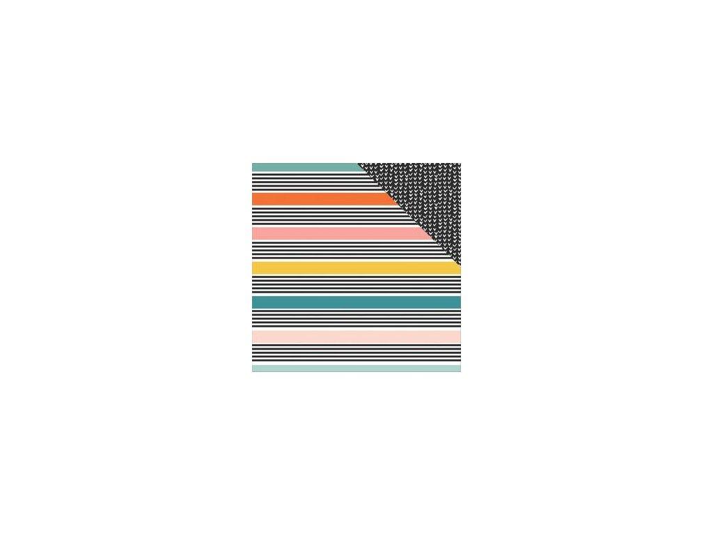 "Simple Stories - WHATEVER - 12"" scrapbooková čtvrtka"