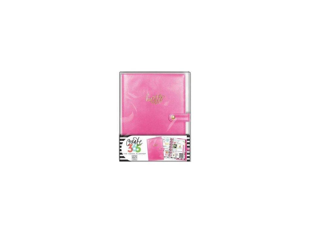 Me&My Big Ideas - MINI / CREATE 365 PLANNER / PINK - malé koženkové desky / obal