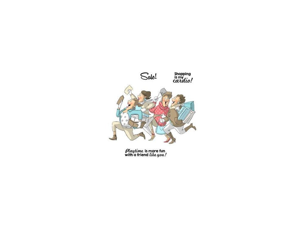 Art Impressions - SHOP SET - 4545 - cling gumové razítko