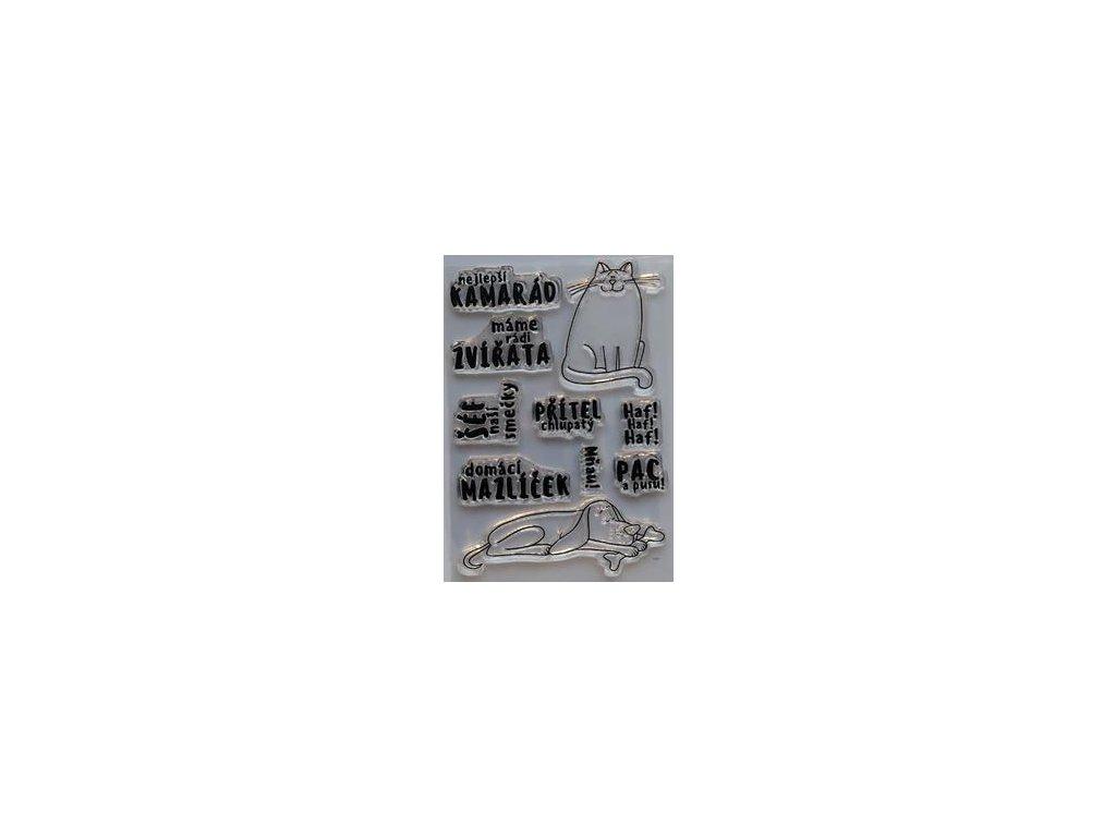 HuráPapír - NEJLEPŠÍ KAMARÁD - silikonová razítka