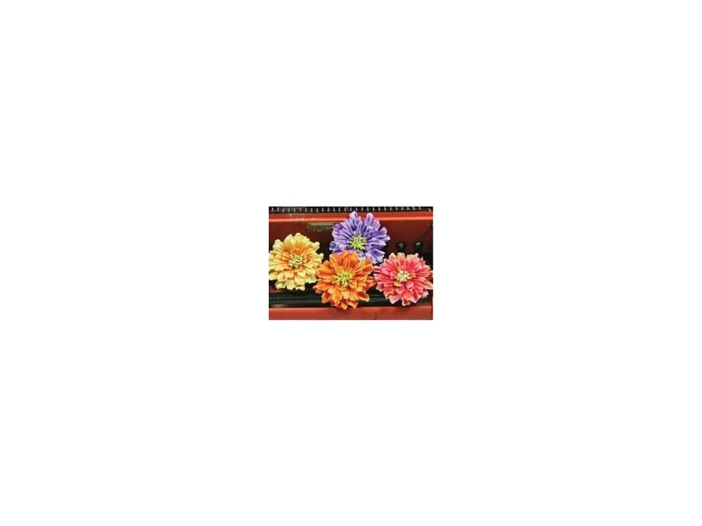 prima 539207 eclatte layered mulberry paper flower embellishments mix 3