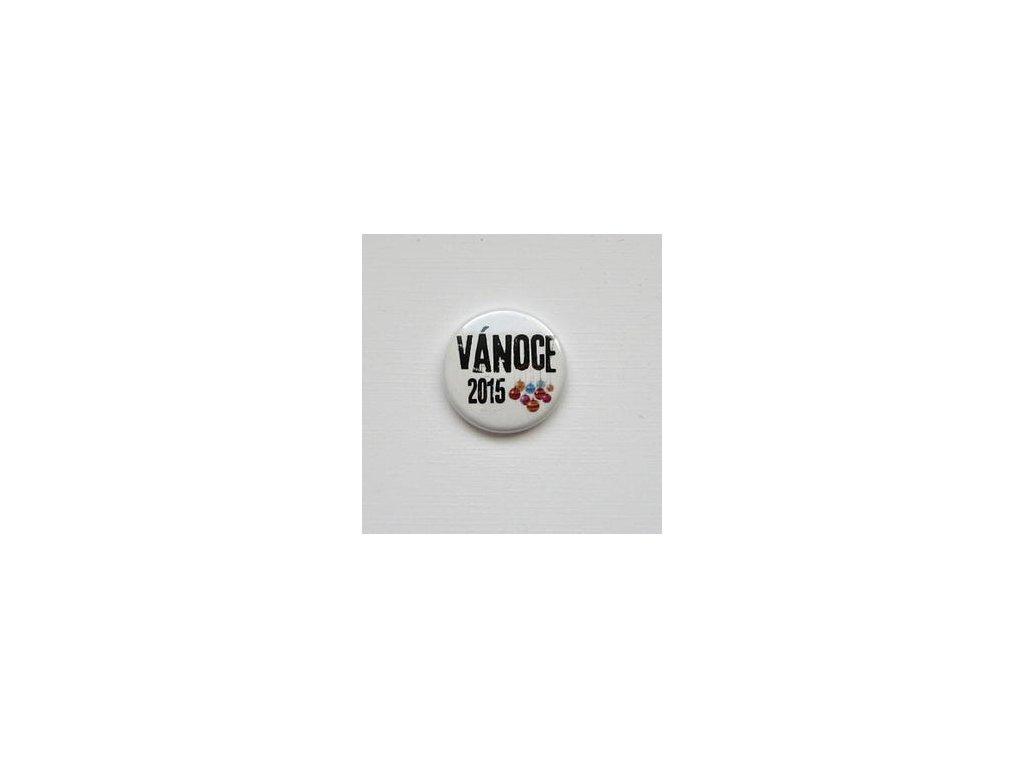 Vánoce 2015 / 36  -  3D button / placka