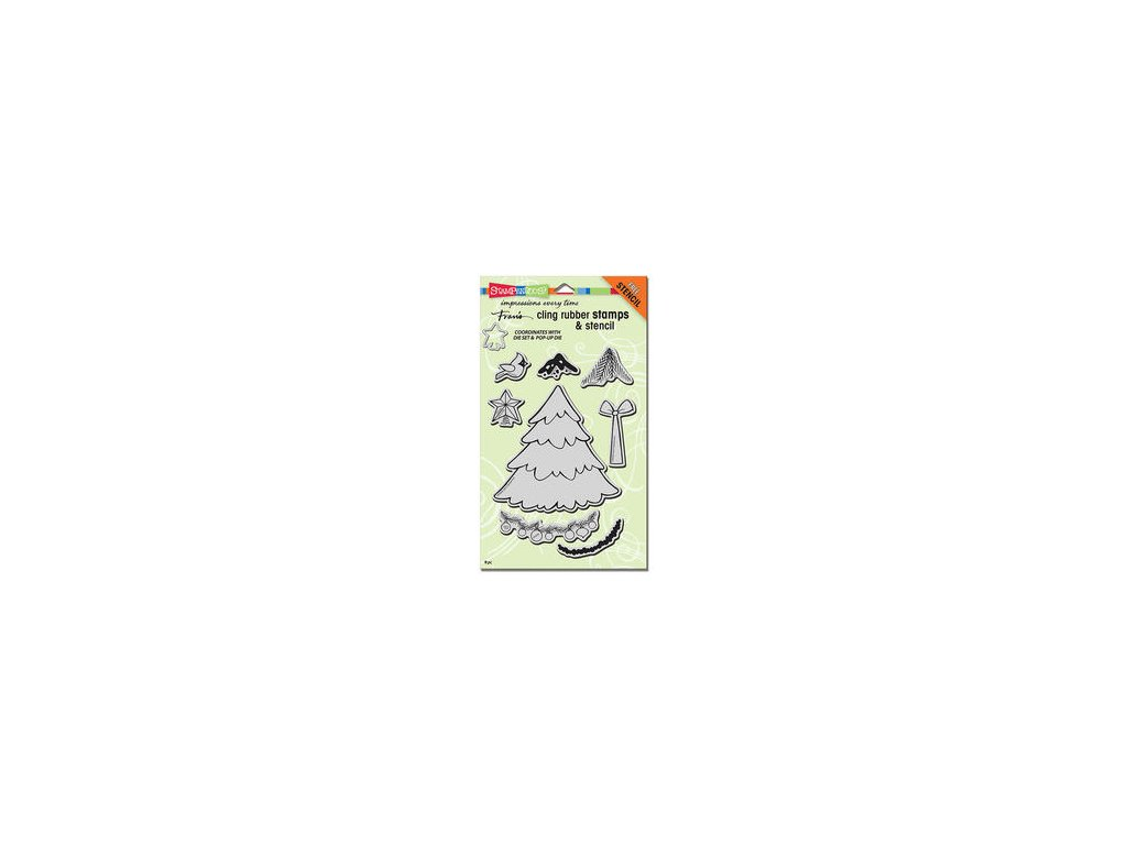 stampendous create christmas cling rubber crs5080 37255 p