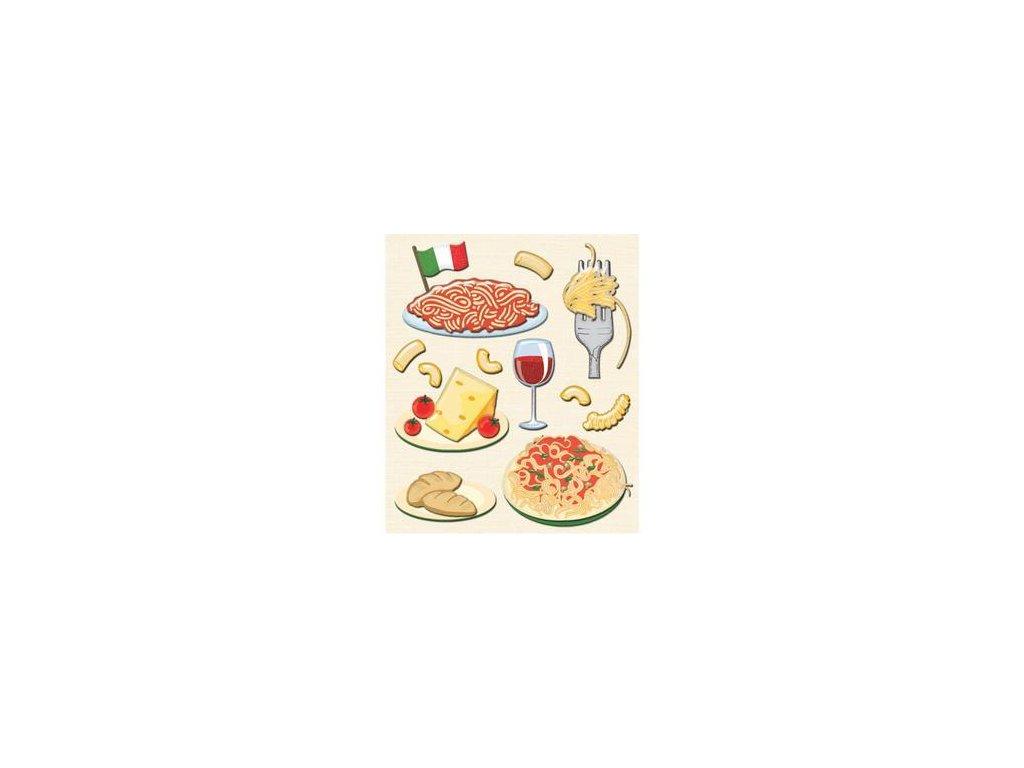 K&Company - ITALIAN - vrstvené samolepky