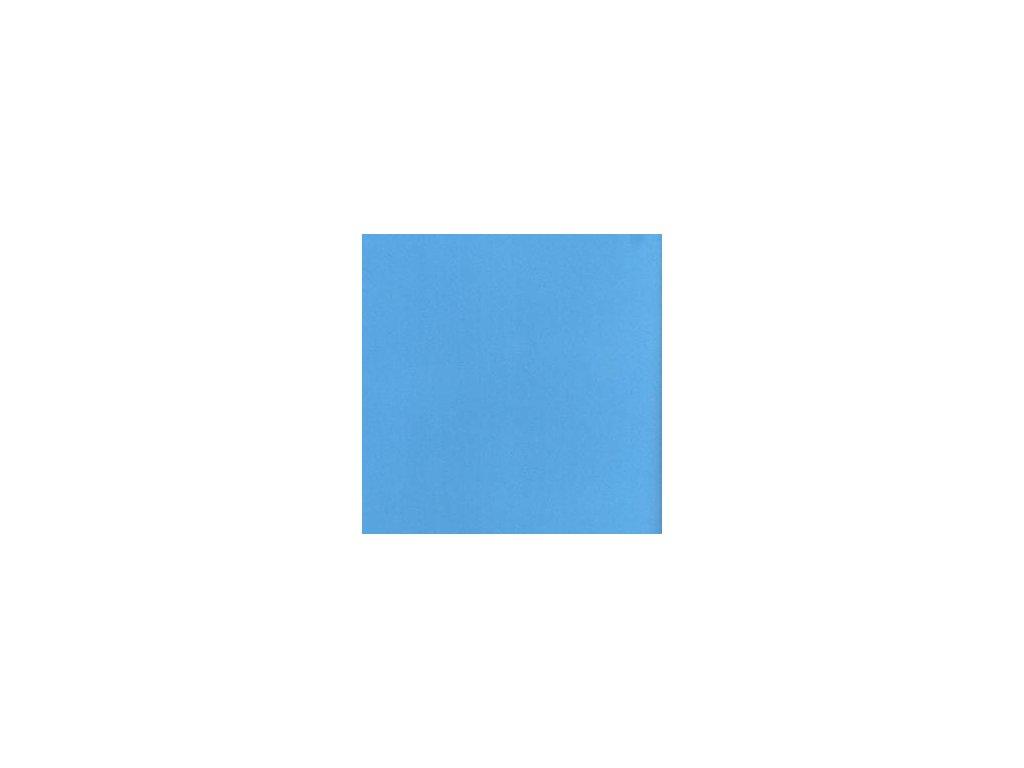 Foamiran / nebesky modrá - tenká pěnová guma 30 x 35 cm