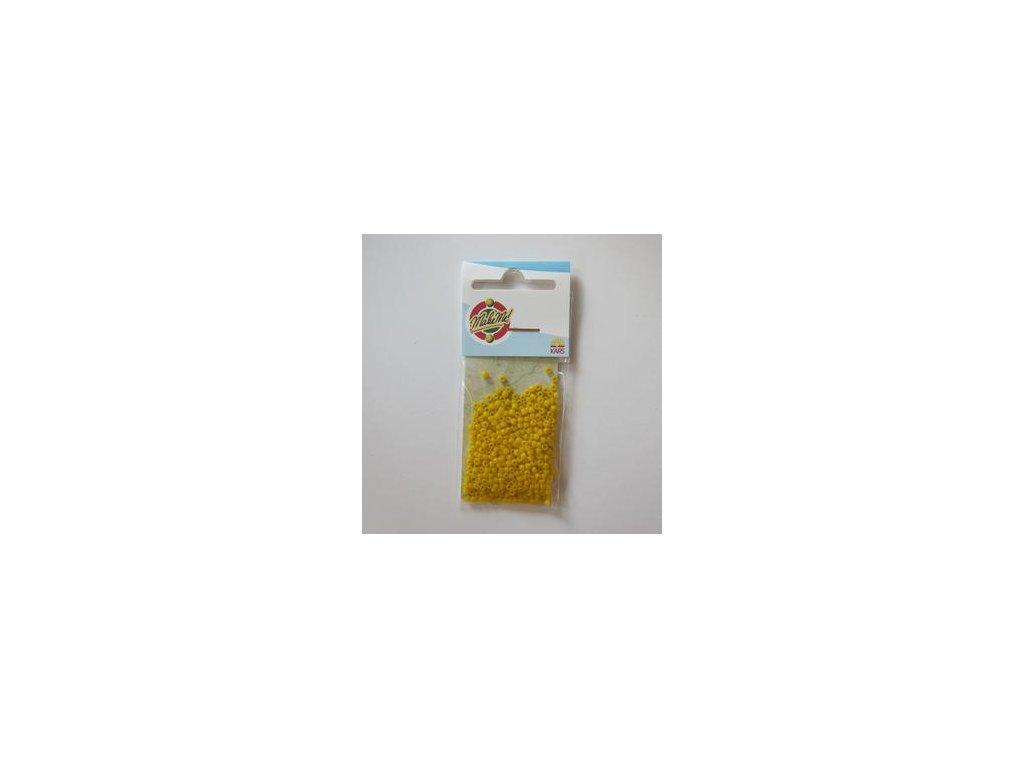 Rocailles YELLOW - 10-0 2,2 MM - korálky v sáčku