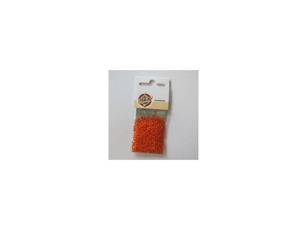 Rocailles DEKKEND ORANGE - 10-0 2,2 MM - korálky v sáčku