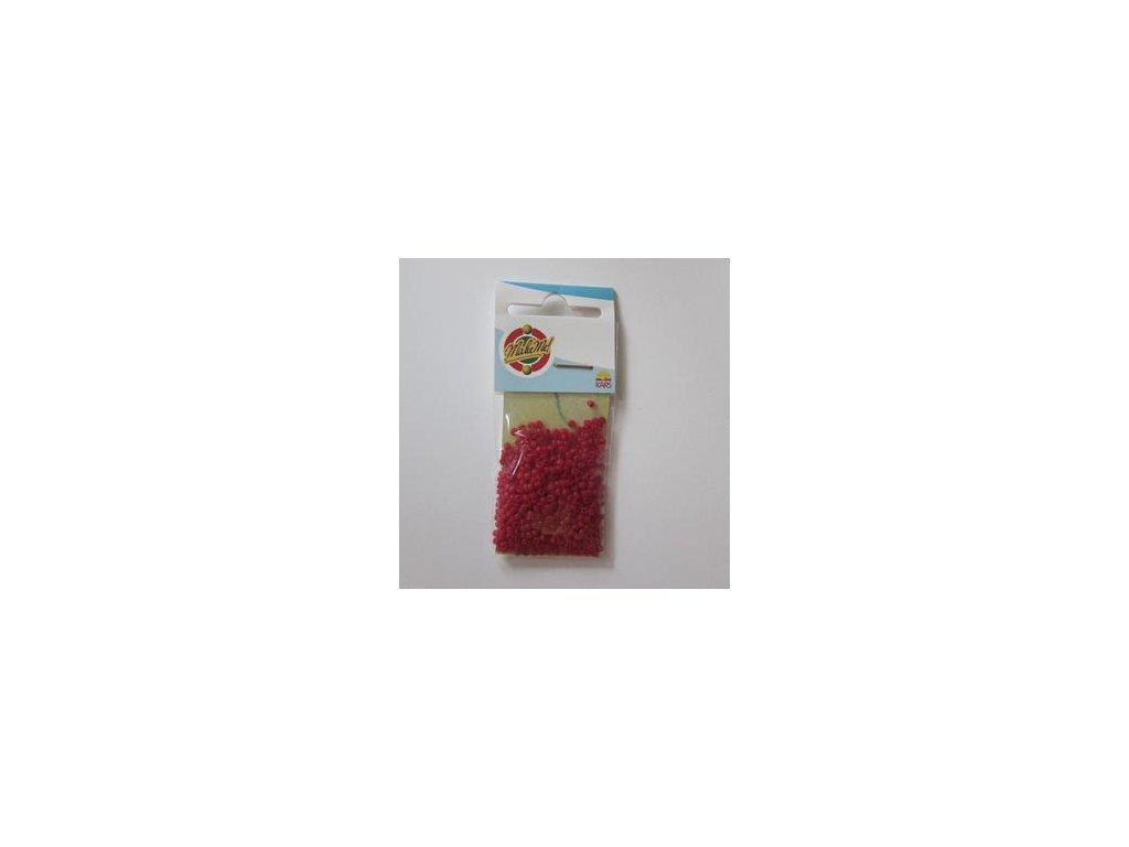 Rocailles DARK RED - 10-0 2,2 MM - korálky v sáčku