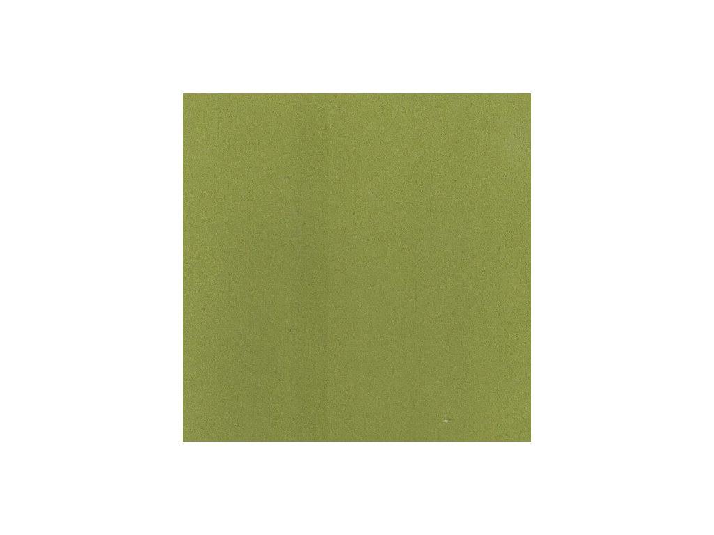 Foamiran / olivově zelená - tenká pěnová guma 30 x 35 cm