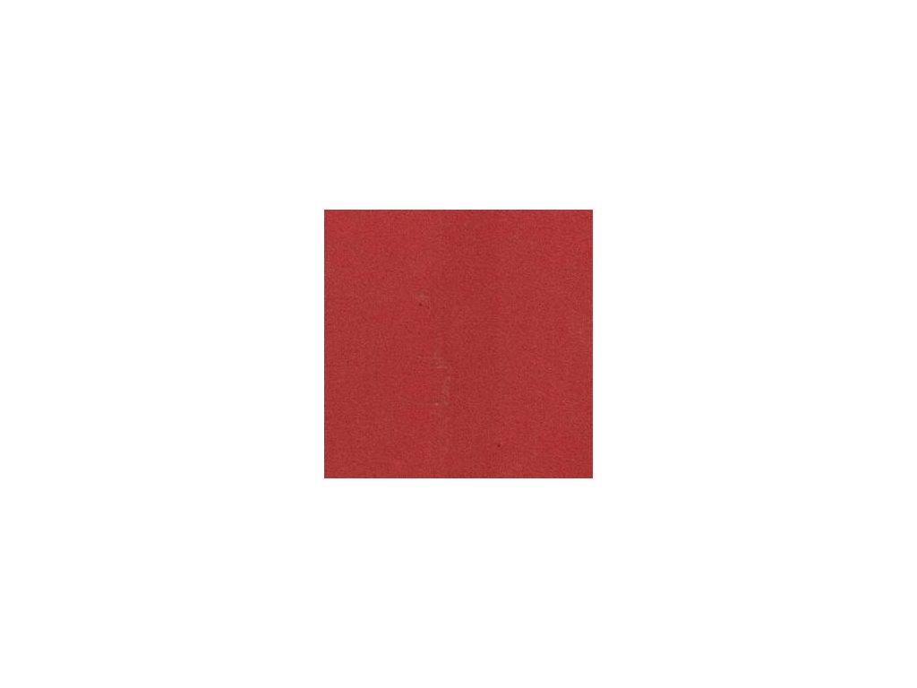 Foamiran / červená - tenká pěnová guma 30 x 35 cm
