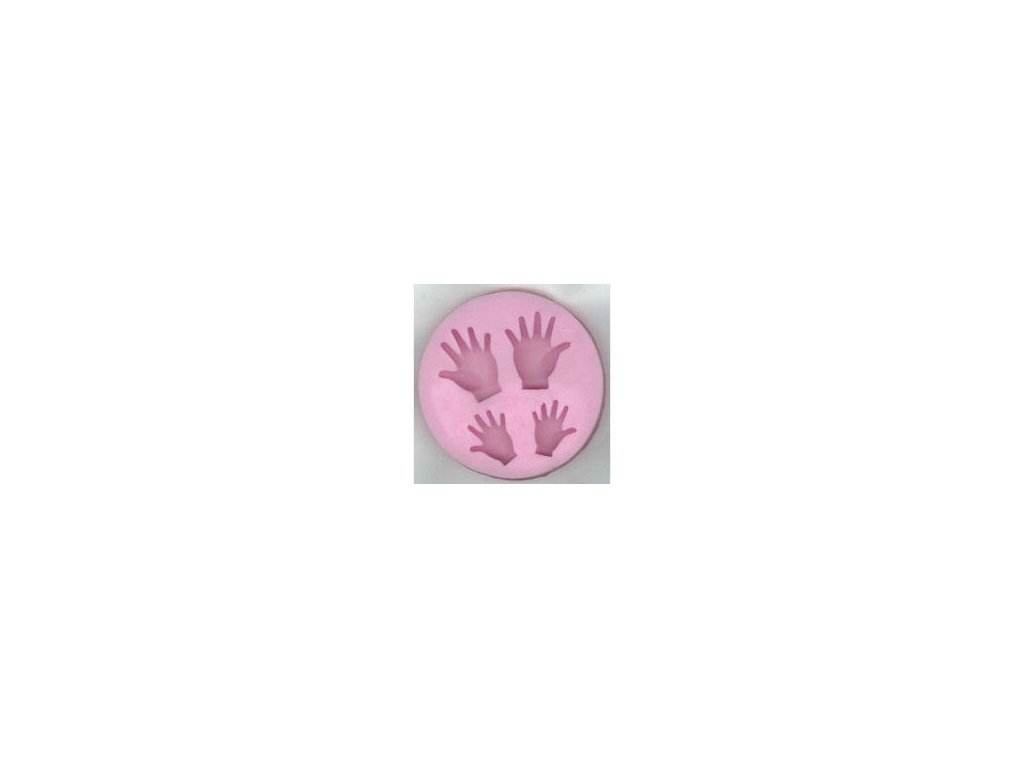 Woodware - HANDS / SILICONE MOLD - silikonová forma