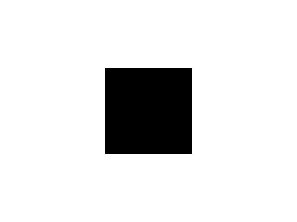 Foamiran / černá - tenká pěnová guma 30 x 35 cm