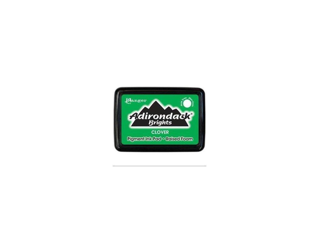 adirondack brights pigment inkpads clover 3011564