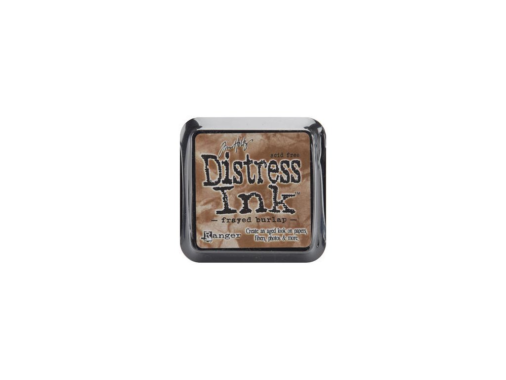 tim holtz distress ink pad frayed burlap 24