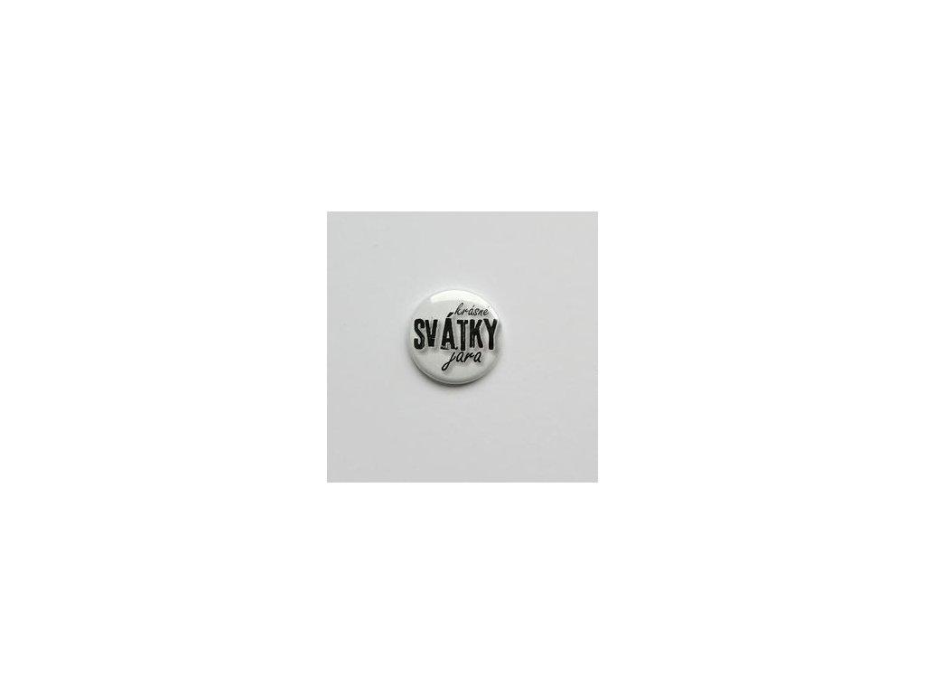 Krásné SVÁTKY jara / 44  -  3D button / placka