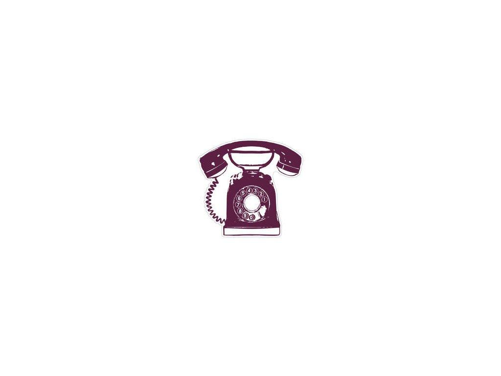 Aladine - maxi telefon - gumové razítko