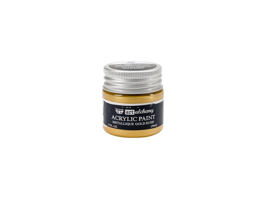 Prima - ACRYLIC PAINT / METALLIQUE / GOLD - metalická akrylová barva
