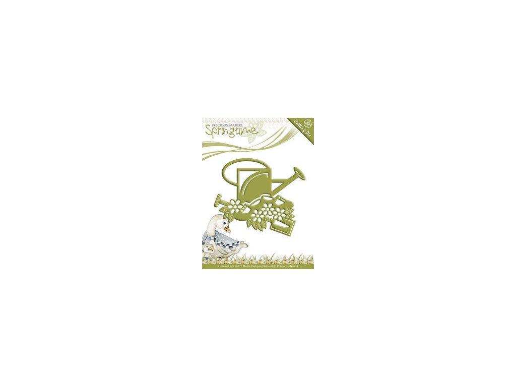 Precious Marieke - Springtime - Bird Feeder - vyřezávací šablona pro Big Shot